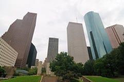 Houston da baixa imagem de stock