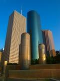 Houston de stad in Royalty-vrije Stock Foto's