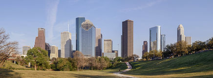 Houston de stad in, Texas Stock Fotografie