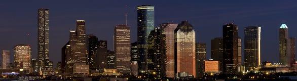 Houston del centro Fotografie Stock Libere da Diritti