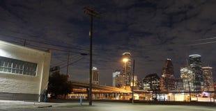 Houston del centro Fotografie Stock