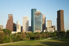 Houston Downtown Skyline. In the Daylight, USA Stock Image