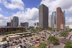Houston downtown view Royalty Free Stock Photography