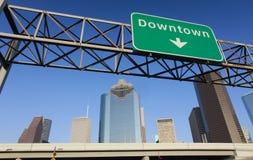Houston du centre Images stock