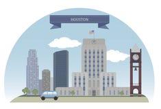 Houston, EUA ilustração do vetor