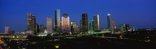Houston horisont Arkivbild