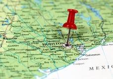 Houston i Texas, USA Royaltyfria Foton