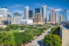 Houston im Stadtzentrum gelegen Stockfoto