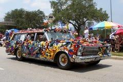 Houston-Kunst-Auto-Parade 2011 lizenzfreies stockbild