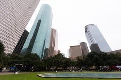 Houston Landscape royalty free stock photos