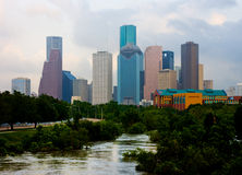Houston le Texas Images libres de droits