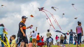 Houston, le Texas, Etats-Unis 24ème le mars, 2019 festivals de cerf-volant image libre de droits