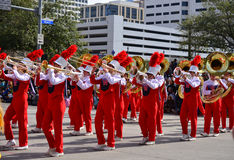 Houston Livestock Show and Rodeo Parade Stock Photo