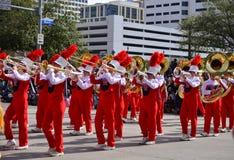 Houston Livestock Show and Rodeo Parade Stock Photo