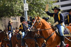 Houston Livestock Show and Rodeo Parade Stock Images
