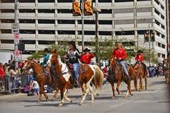 Houston Livestock Show and Rodeo Parade Stock Photography
