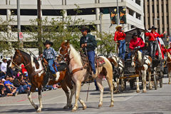 Houston Livestock Show and Rodeo Parade Royalty Free Stock Image