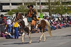 Houston Livestock Show and Rodeo Parade Royalty Free Stock Photography