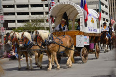 Houston Livestock Show and Rodeo Parade Royalty Free Stock Images