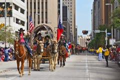 Houston Livestock Show- und Rodeo-Parade Lizenzfreie Stockbilder