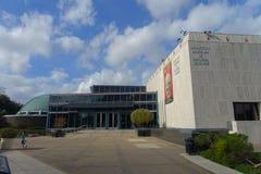 HOUSTON, LOS E.E.U.U. - 12 DE ENERO DE 2017: Visión desde fuera del edificio en el Museo Nacional de la ciencia natural en Orland Foto de archivo libre de regalías