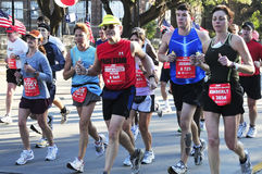 Houston Marathon. Picture of people running for the Chevron Houston Marathon in 2009 Stock Images