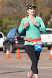 Houston 2015 marathon runners Royalty Free Stock Image