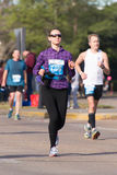 Houston 2015 marathon runners Royalty Free Stock Photo