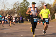 Houston 2015 marathon runners Stock Photography