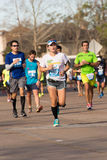 Houston 2015 marathoniens Images libres de droits