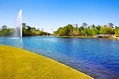 Houston Mc rządzi jezioro z wiosny wodą Obrazy Stock
