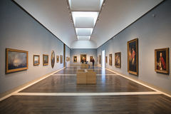 Houston, Museum of fine arts. Interior of the Museum of Fine Arts, Houston one of the larger art museums in United States Royalty Free Stock Photography