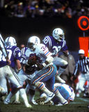 Houston Oilers RB Earl Campbell Royalty Free Stock Images