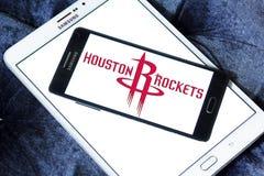 Houston Rockets american basketball team logo Royalty Free Stock Photo