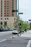 Houston's streets. Royalty Free Stock Photos