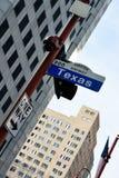 Houston's streets. Royalty Free Stock Photography
