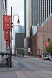 Houston's streets. Stock Photography