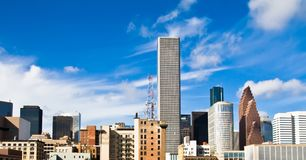 Houston skyline Stock Photography