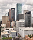 Houston Skyline Fotos de Stock Royalty Free