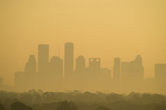 Houston skyline Stock Images