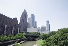 Houston Skyline Stock Foto