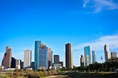 Houston Skyline Stockfotos