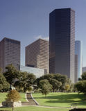 Houston skyline stock image