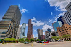Houston skyline cityscape in Texas US Stock Photos