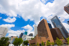 Houston skyline cityscape in Texas US Stock Images