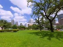 Houston skyline cityscape in Texas US Royalty Free Stock Photo