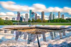 Houston Skyline du centre images stock