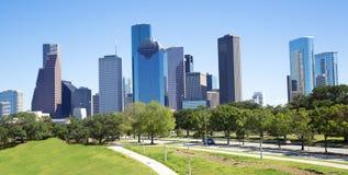 Houston. Skyline image of downtown Houston, Texas Stock Photography