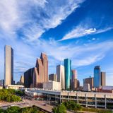 Houston Skyline North view in Texas US Stock Photos