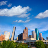 Houston Skyline North view in Texas US Royalty Free Stock Photo